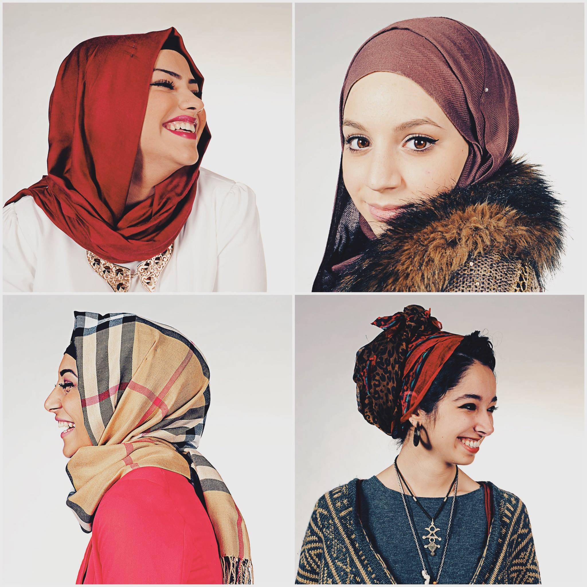 """Fotoprojekt """"Hijabistas. Mein Kopftuch wie's mir gefällt"""" der Fotografin Asma Aiad"""
