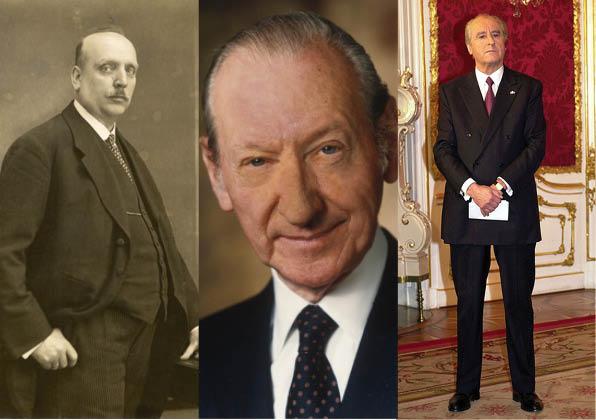 Miklas, Waldheim, Klestil; Drei Bundespräsidenten, die das Amt ganz unterschiedlich auslegten.