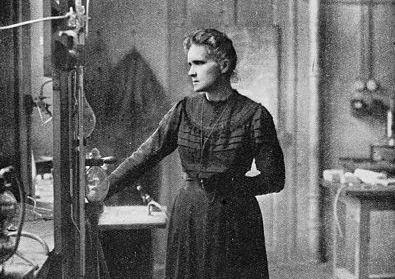 Portrait von Marie Curie